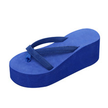 DIJIGIRLS Plattform Sandalen Frauen High Heel Zapatillas Chinelo Schuhe Sommer Mode Straped Hausschuhe Flip-Flops Schwarz Pantufa(China)