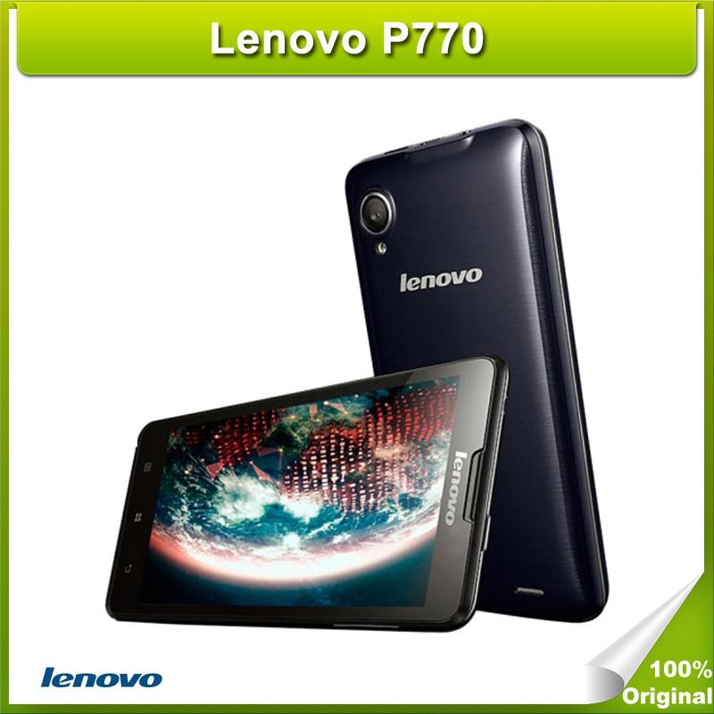 Original Lenovo P770 4.5 Inch IPS Screen Android OS 4.1 Smart Phone Unlock MT6577 1.2GHz Dual Core Dual Sim WCDMA & GSM Network(China (Mainland))