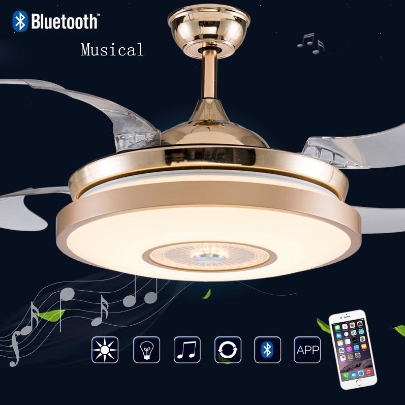 Hunter Bluetooth Ceiling Fan: Compra Ventiladores De Techo De Acero Inoxidable Online Al