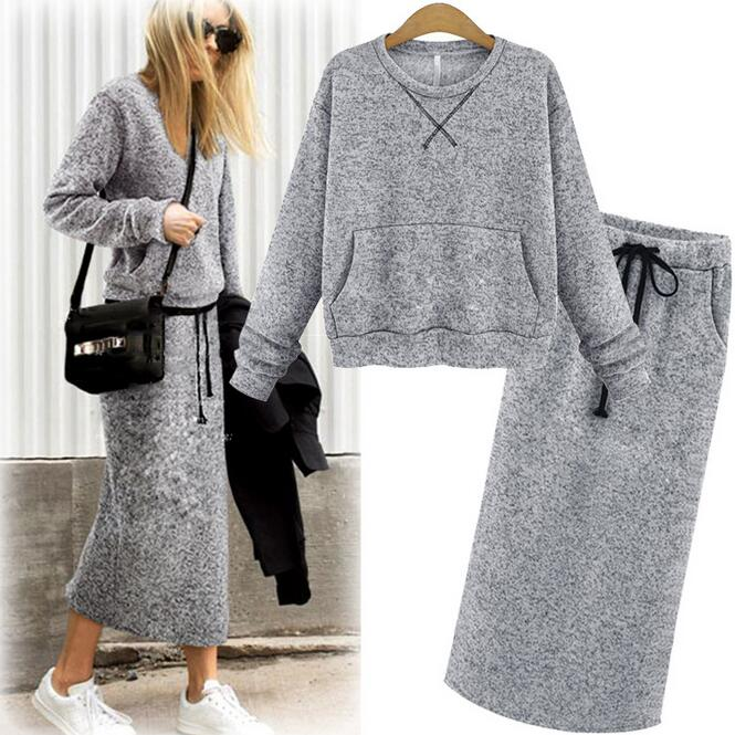 Sweater And Skirt Sets - Cashmere Sweater England