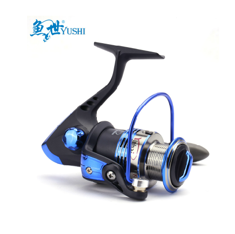 YB3000 7 Ball Bearings Fishing Spinning Reel 5.5:1 Lure Fishing Reel Rubber Handle Fishing Reel DROP SHIPPING