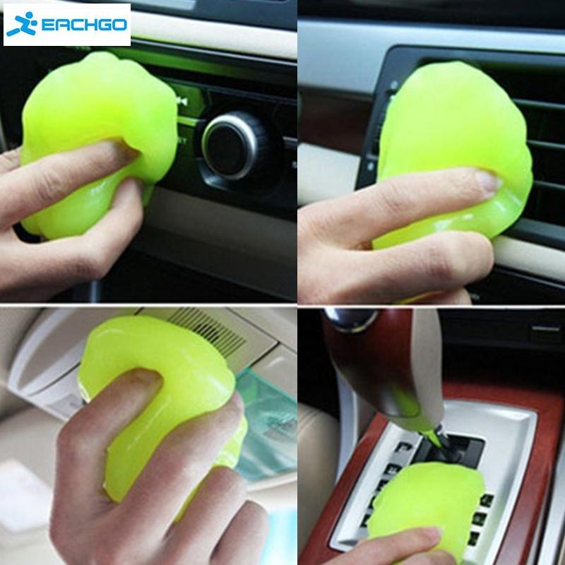 2016 car cleaning sponge products auto universal cyber super clean glue microfiber dust tools mud gel products car accessories(China (Mainland))