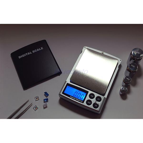 Retail 500g x 0.01g Digital Pocket Scale Jewelry Weight Balance g/ oz/ ct/ gn - BlueCosto Online Store store