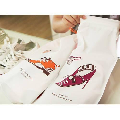 Travel storage bag shoes storage bag sandals sorting bags 2