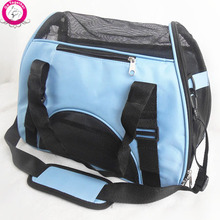 Folding Pet Carry Bag Oxford Breathable Mesh Cat Carriers Outside Portable Dog Travel Bag Waterproof(China (Mainland))