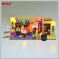 MTELE Brand Led Light Building Blocks Kit Toy For 16024 Compatible with lego 21302 Ideas Series