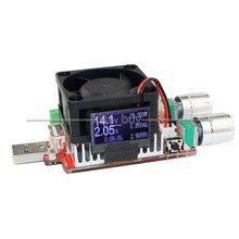 35w 4A oled display usb electronic load adjustable constant current battery capacity tester - likekk store