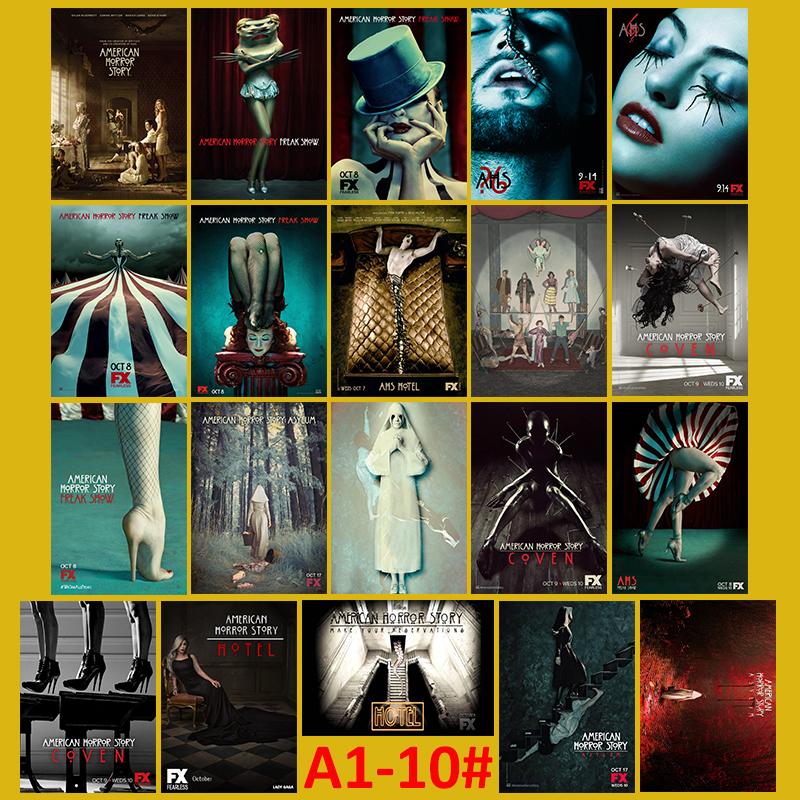 Online buy wholesale american horror story from china for American horror story wall mural