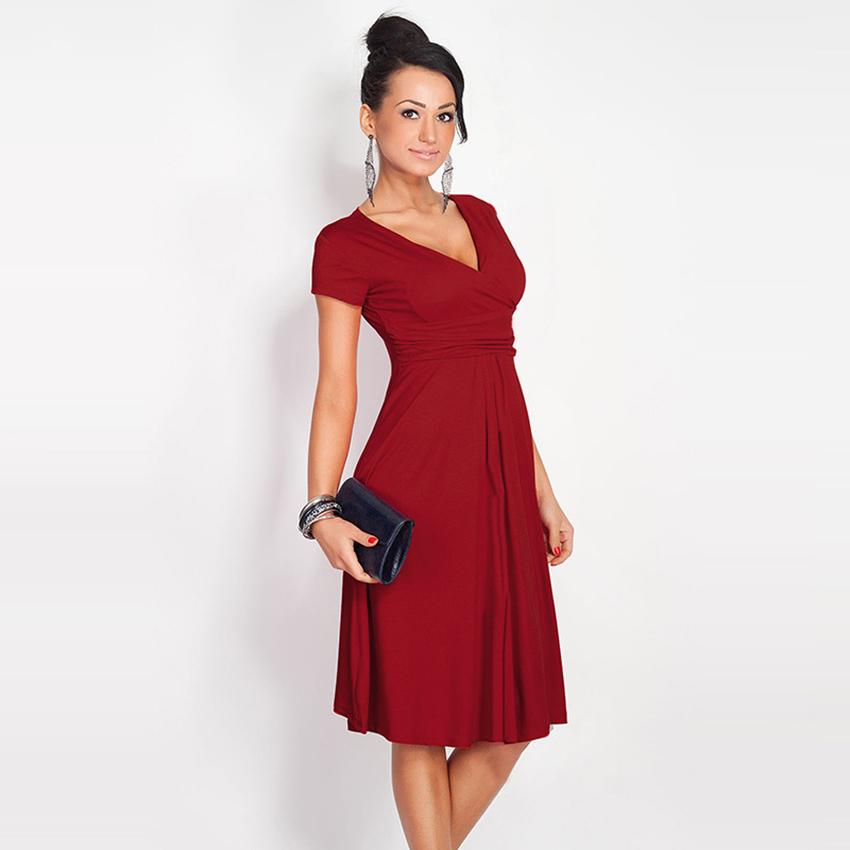 Brilliant 2016 Summer Ladies Dresses Design New Women Short Dress Elegant