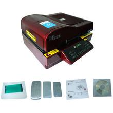 vacuum 3d sublimation heat press machine 110V or 220V for phone cases mug cup plate tiles printing