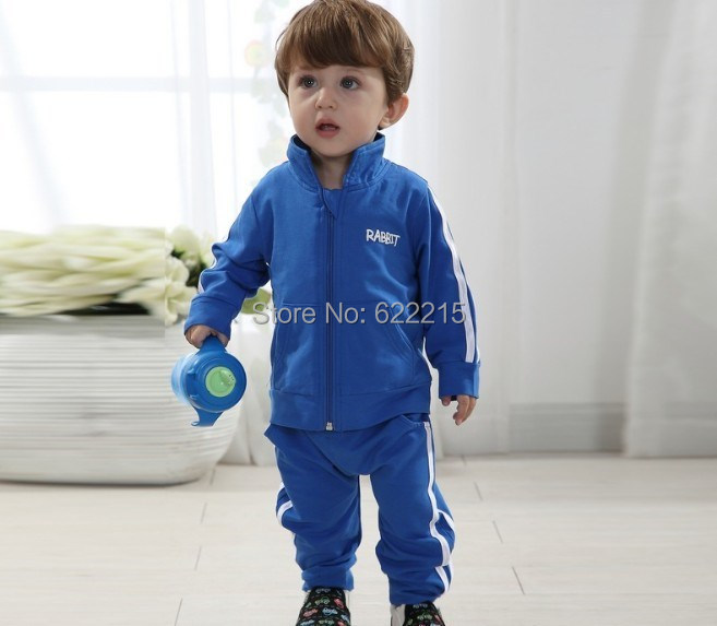 2015 Kids suits Winter autumn Clothing Children outerwear sport sets fleece hoodies+Pants boys girls twinset tracksuit clothes - Cute baby & fashional women store