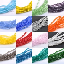 Buy 2mm (About 400Pcs) Faceted Austria Crystal Beads charm Glass Beads Loose Spacer Beads DIY Jewelry Making TRS0138-2 for $2.16 in AliExpress store