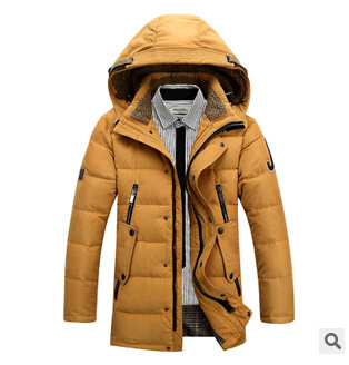 2015 thick coat winter jacket men warm male men's Long hooded Large size 3XL 4XL - yixiaoerguo's store
