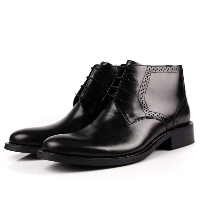 Здесь можно купить  2014 New Spring Classic 100% Real Genuine Leather Formal Brand Man Italian Ankle Boots Men