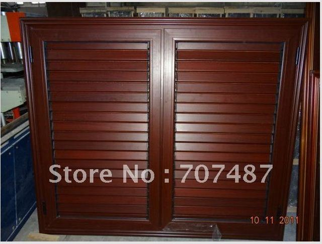 2011 Newest American aluminum shutter window with high quality and competitive price