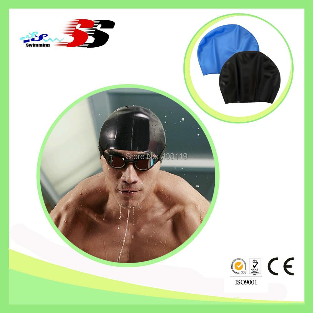 wholesale swim cap,swimming pool caps,silicone rubber swim caps(China (Mainland))