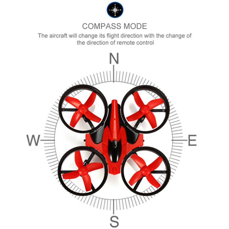 NH010 JJRC H36 Mini Drone 2.4GHz 6-Axis RC Quadcopter With Headless Mode One Key Return Helicopter Vs H8 H37 Dron Toys For Kid