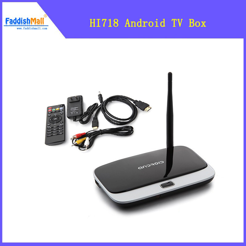 Free Ship + Drop shipping Android TV Box dongle With Remote Control Quad Core RK3188 2GB 8GB(China (Mainland))
