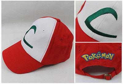 Cosplay Mobile game font b Pokemon b font Go baseball Cap hat Monster Anime font b