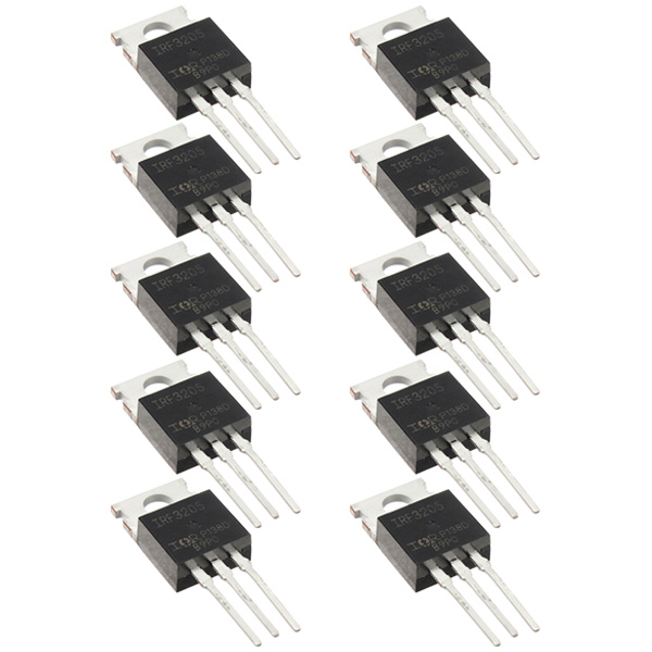 10pc IRF3205 IRF3205PBF Fast Switching Power Mosfet Transistor / N Channel T0220(China (Mainland))