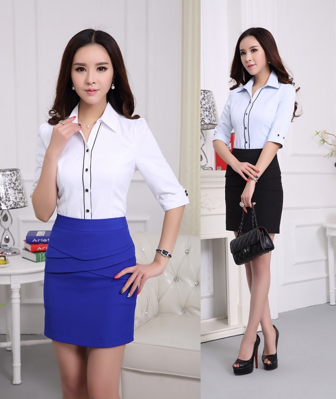 Formal Blouse And Skirt - My Blouses