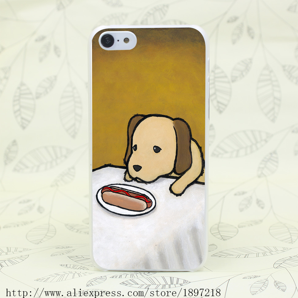 3995T Revenge Is A Dish Dog Hard Transparent Cover Case for iphone 4 4s 5 5s 5C SE 6 6s Clear Cell Phone Cases(China (Mainland))