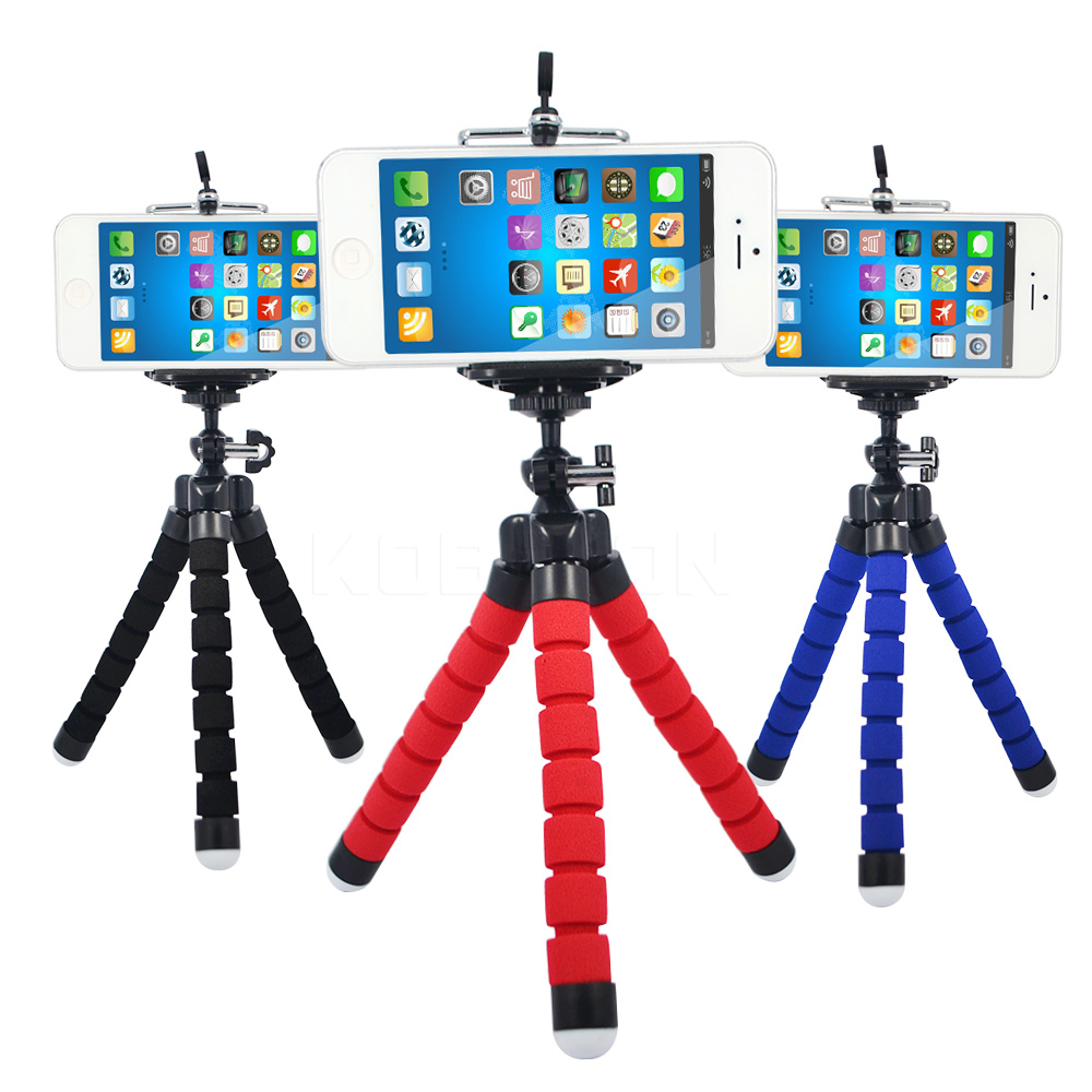 Flexible Holder Octopus Tripod Bracket Stand Mount Monopod Digital Camera for Gopro Hero 3 4 for iPhone 6 7 Huawei Phone s7 s8(China (Mainland))