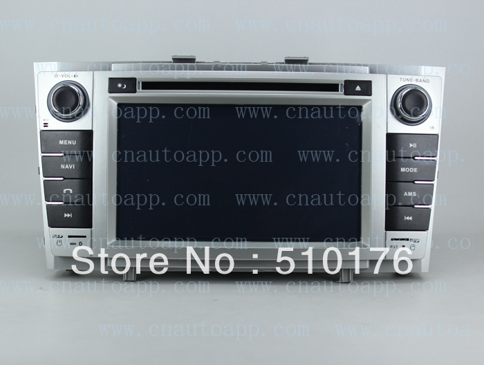 Avensis DVD With GPS / In-Dash Car DVD Player GPS Radio For Toyota Avensis 2009 (White Color Model)(China (Mainland))