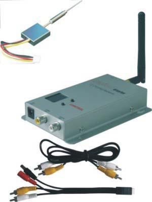 12CH 100m Wireless Audio&Video Transceiver Kit For CCTV Camera 2.4GMHz Wireless Digital Video Recorder(China (Mainland))