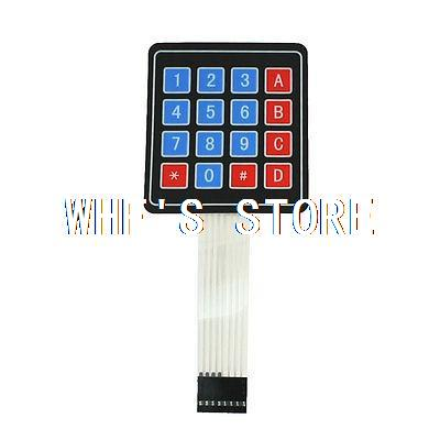 4x4 Matrix 16 Key Membrane Switch Keypad Keyboard Super Slim DC 35V(China (Mainland))