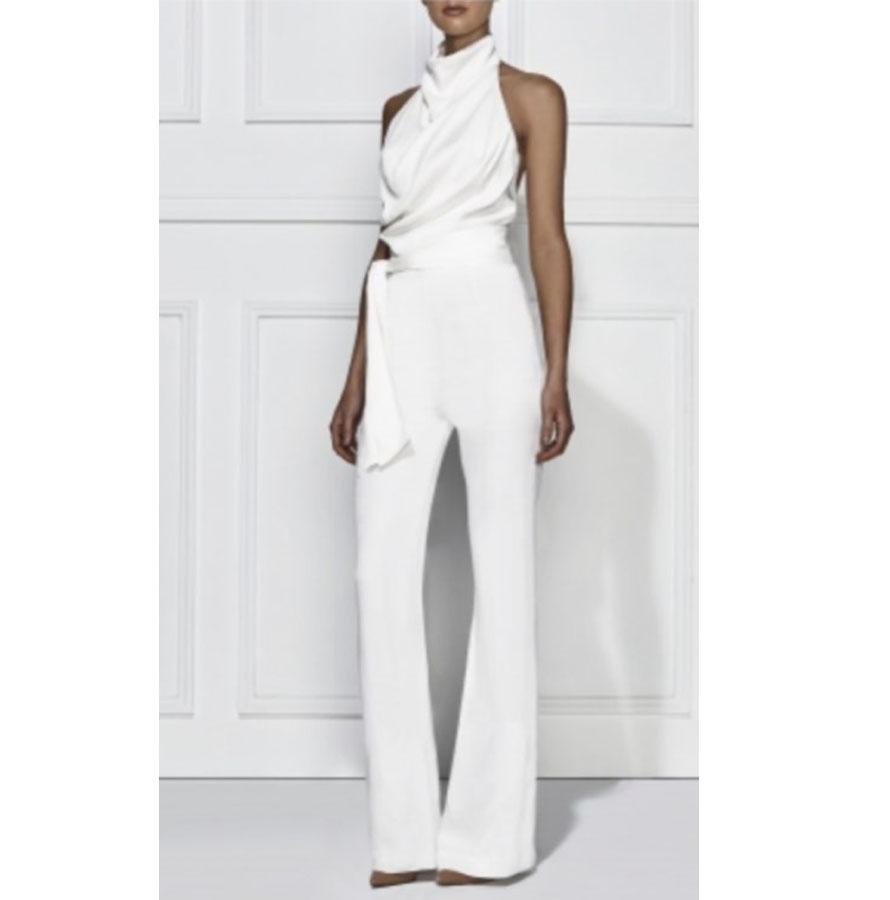 Women'S All White Jumpsuits