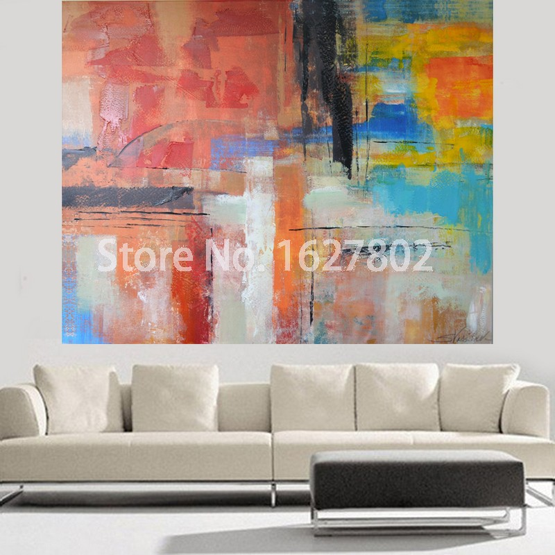 Personalize Hand painted Modern Wall Art for Home Decor