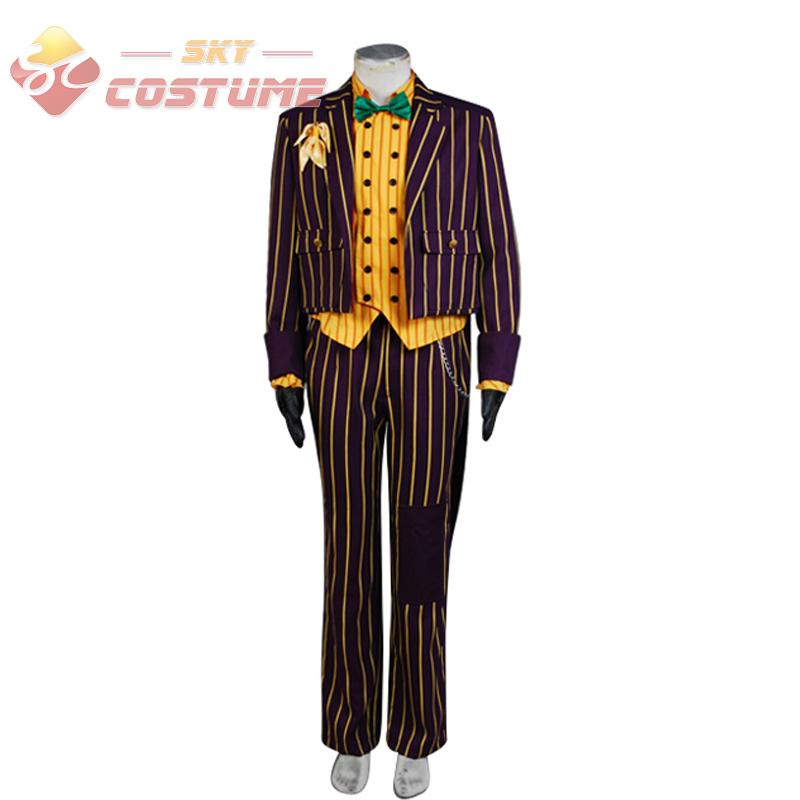Batman Arkham Asylum Joker Tuxedo Costume