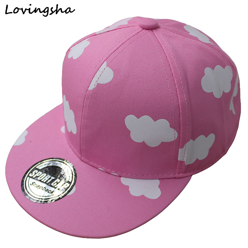 Fashion Boy Baseball Caps For 3-8 Years Old Children Clouds Design Snapback Caps High Qaulity Adjustable Cap For Girl CC012(China (Mainland))