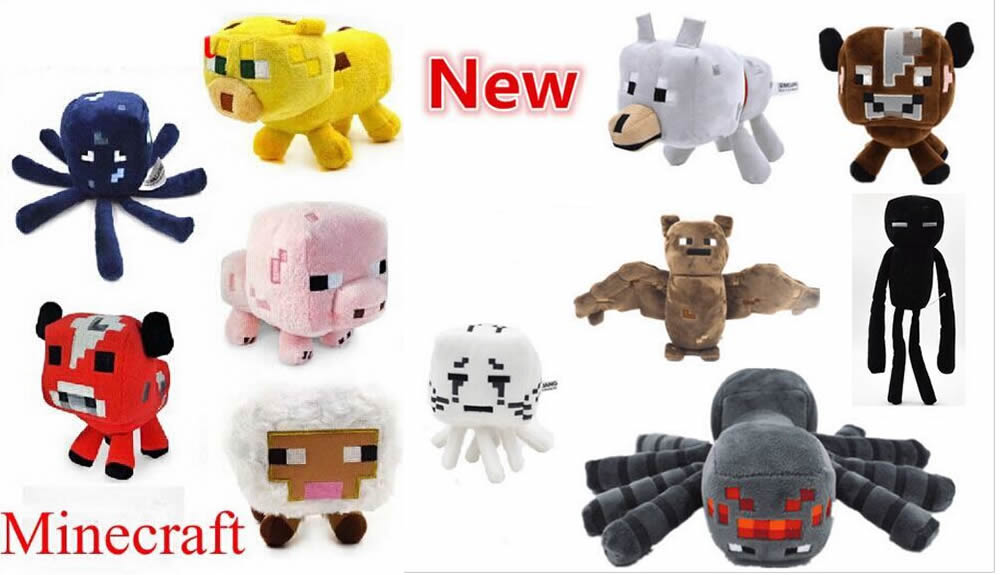 Minecraft Soft Stuffed Plush Toy High Quality Game Cartoon Toys Festival Doll Gift dog pet Toys(China (Mainland))