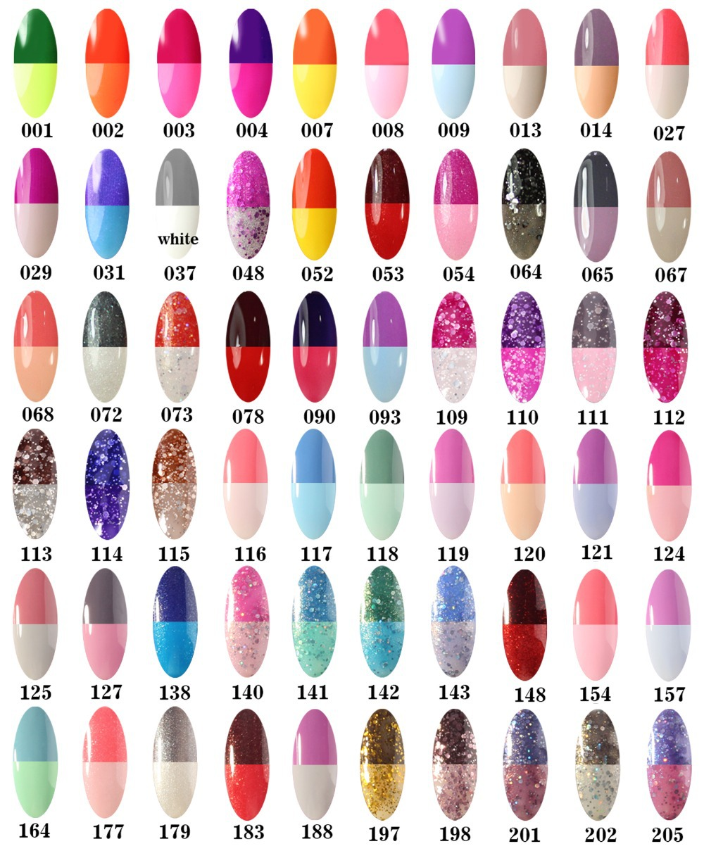 Gel Nail Polish That Changes Color - Nails Gallery
