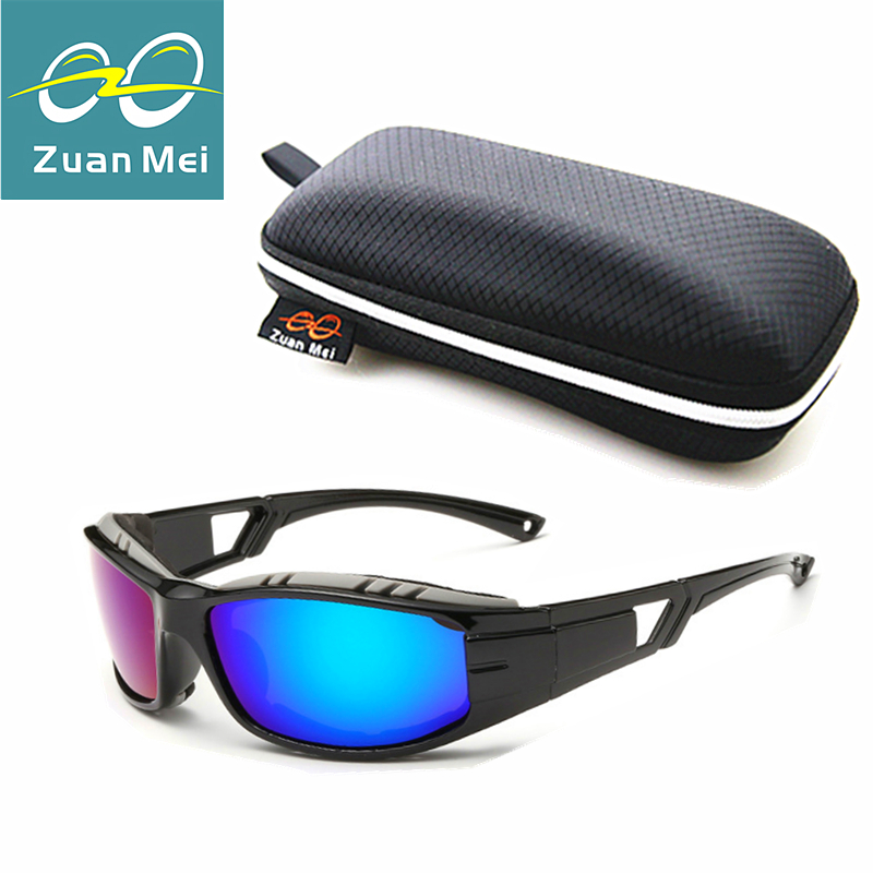 Zuan Mei Brand Polarized Sunglasses Men Driver Mirror Sports Sun glasses Male Fishing Glasses Outdoor Eyewear For Men ZM8520(China (Mainland))