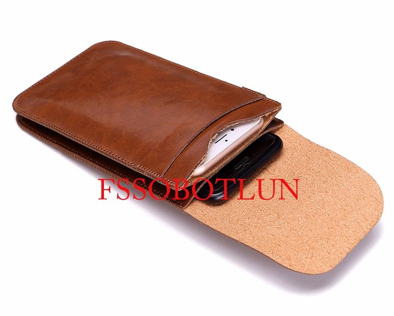 Dual Mobile Phone Leather Bag Sleeve Hanging Waist Pouch Case For BLU Studio G HD LTE,Pure XR,Studio M LTE,Diamond M,Studio M HD