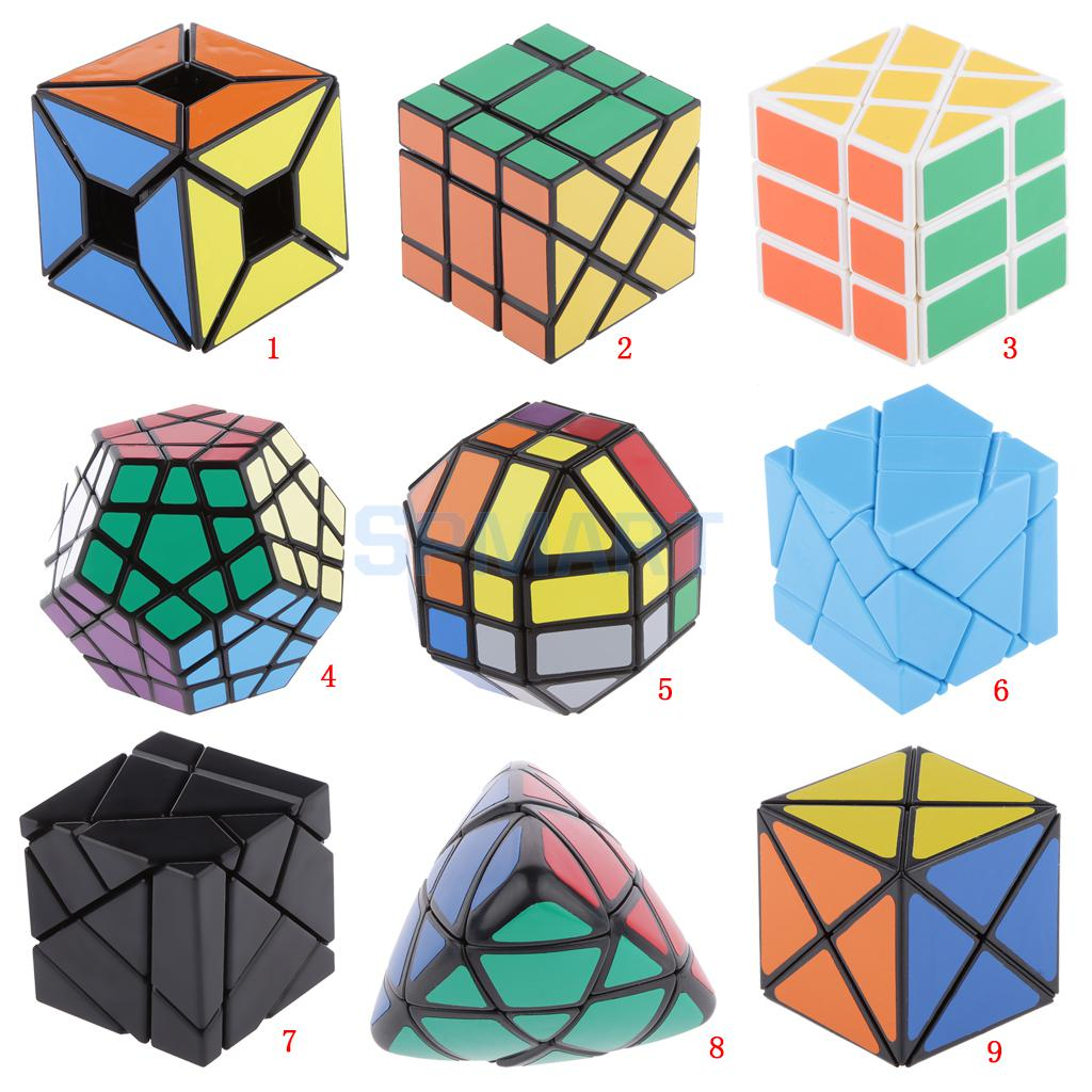 9 Style Novelty Magic Cube Speed Twist Puzzle Brain Teaser Toys(China (Mainland))