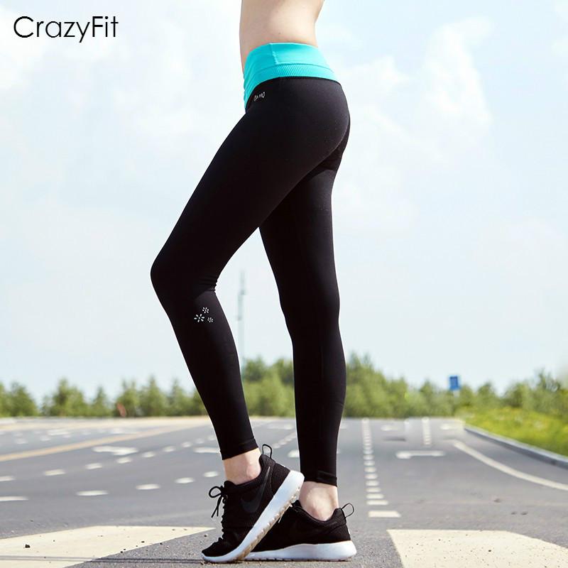 Women's Professional Yoga Pants Female Running Sports