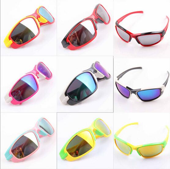 Дети солнечные очки защита от ультрафиолетовых лучей 400 мальчик девочка солнцезащитных очков большие рама очки бренд дизайнер