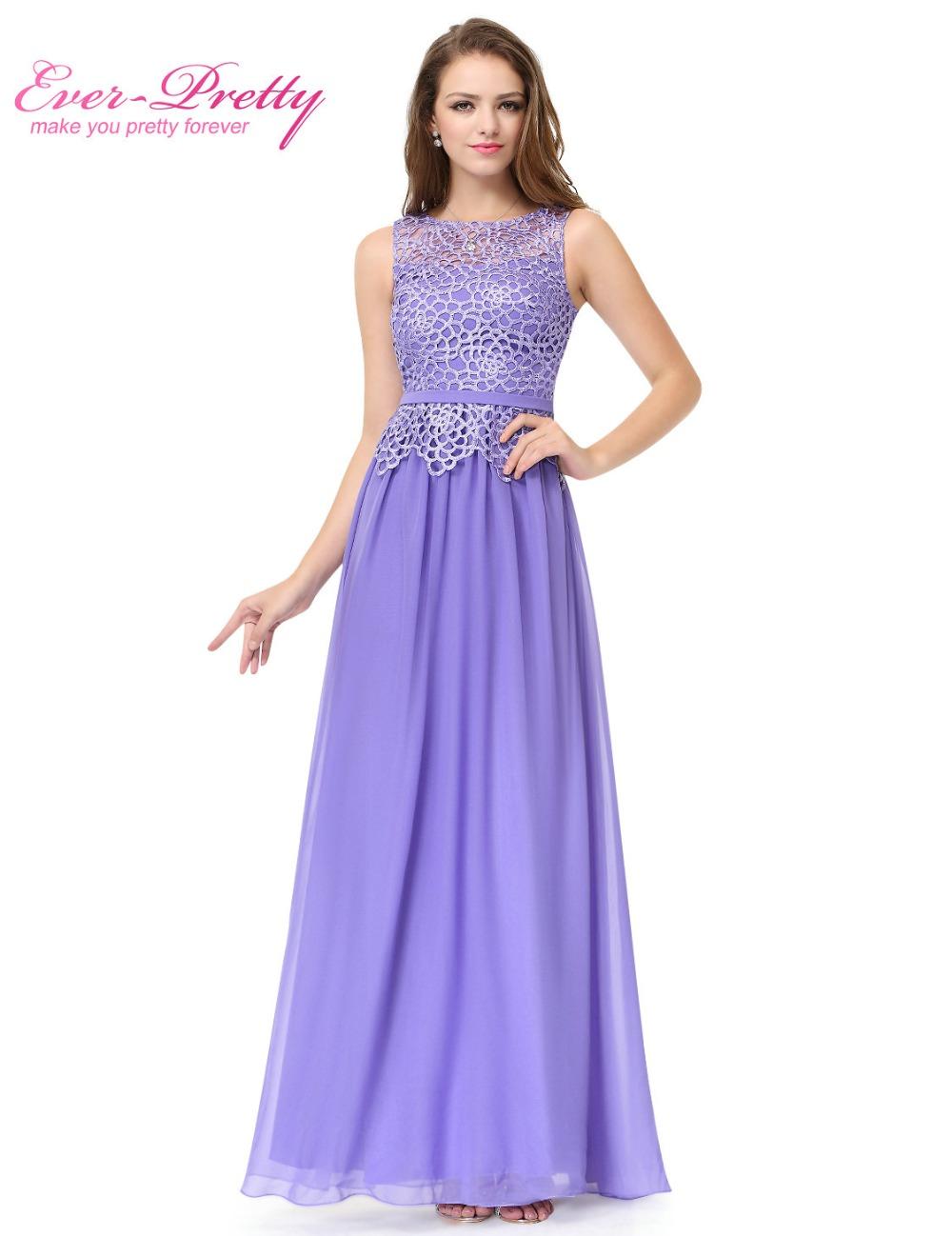 O neck Sleeveless Prom Dresses Ever Pretty HE08904 A line ...