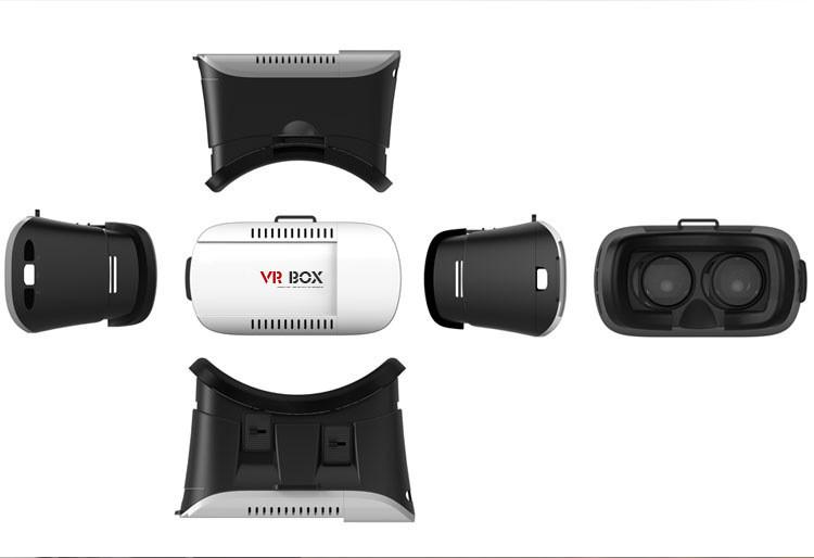 ถูก เค้กร้อนสำหรับG Oogle VRกล่อง2.0รุ่นVRเสมือนแว่นตา3D +บลูทูธgamepadควบคุมการควบคุมระยะไกล