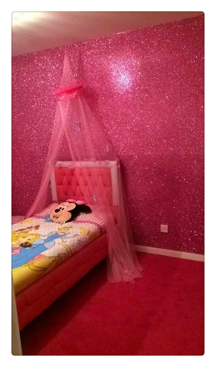 gallery for pink glitter wallpaper for walls