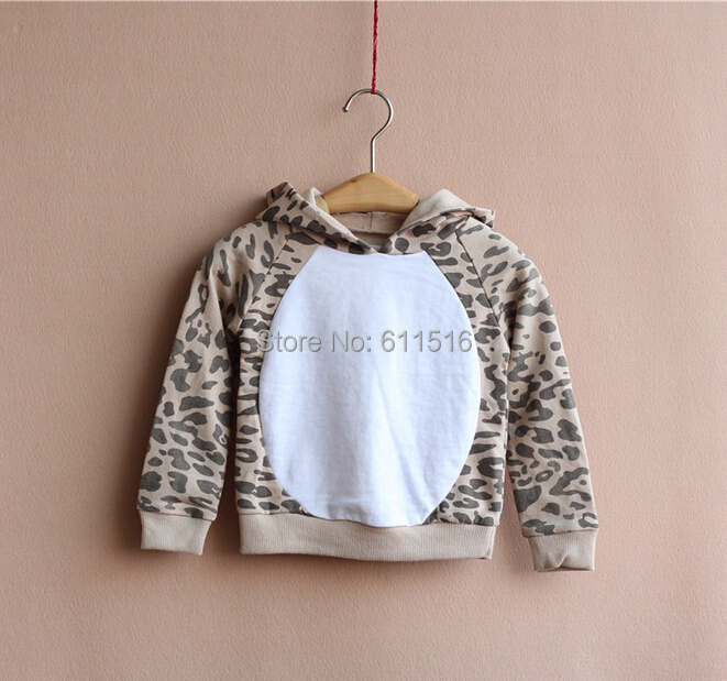 2014 new YOUNG DIMENSION brand 1-8 years girl leopard style terry cotton pullovers sweater 7 pieces/lot