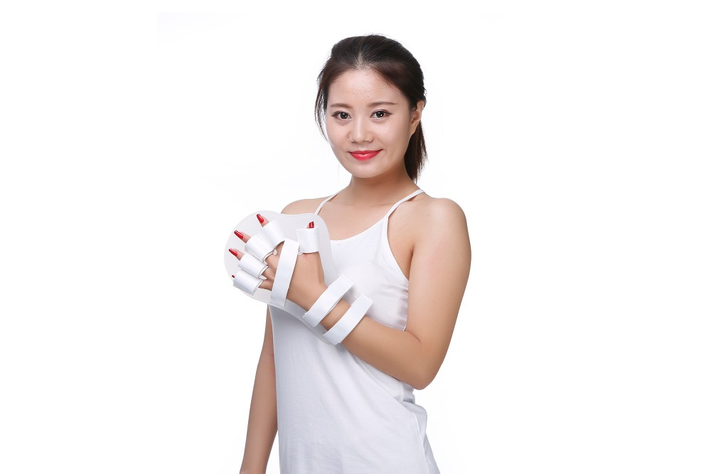 New High quality  Hand Fingers Flex Spasm Corrector Orthosis Therapy Splints Men Women <br><br>Aliexpress