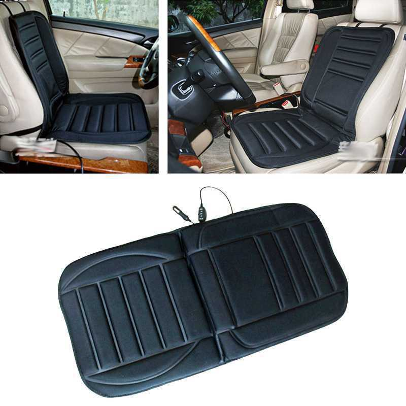 1PCS Winter Car Heated Seat Cushion Hot Cover Auto 12V Heat Heating Warmer Pad warm electrical heating seat cover(China (Mainland))