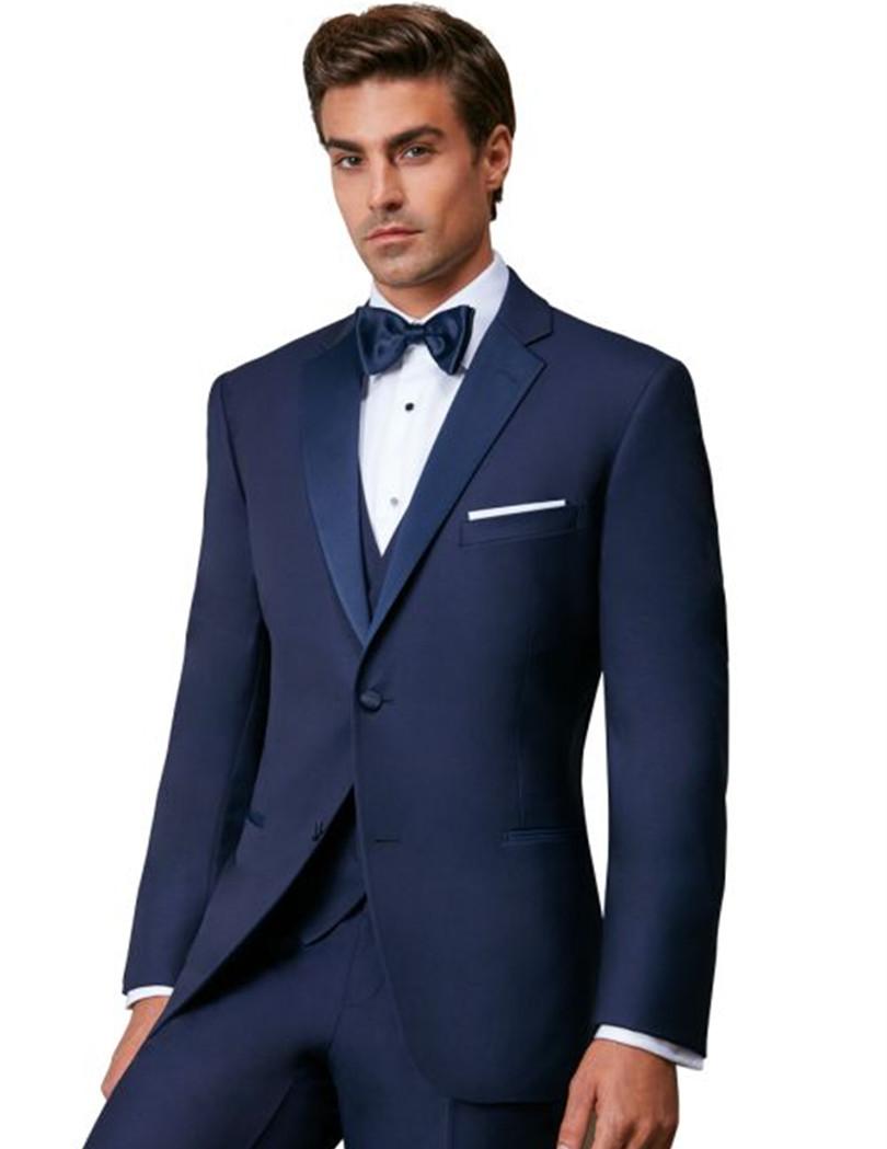 mens suits royal blue tuxedo for men bridegroom suit