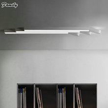 880MM 20W LED Ceiling Contracted Personality Creative Office Strip Lighting Aisle Study Bedroom Lamp Modern Living Room Light(China (Mainland))