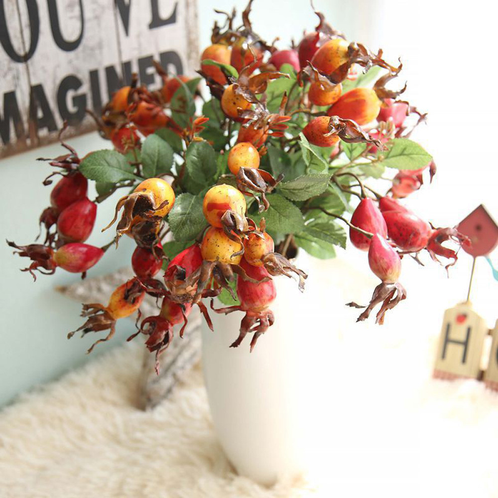 Compare prices on dried pomegranate decoration online for Artificial pomegranate decoration